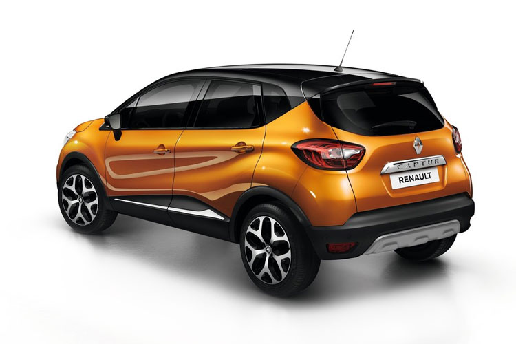 Renault Captur SUV 1.0 TCe 100PS Bose Launch Edition 5Dr Manual [Start Stop] back view