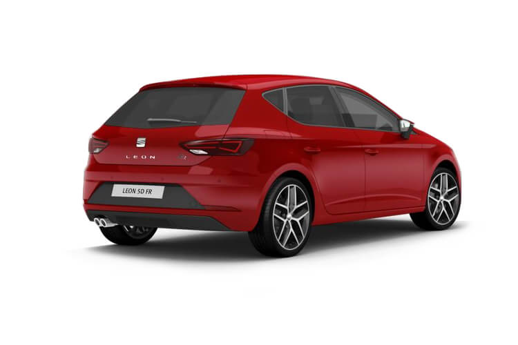 SEAT Leon Hatch 5Dr 1.5 eTSI MHEV 150PS FR Sport 5Dr DSG [Start Stop] back view