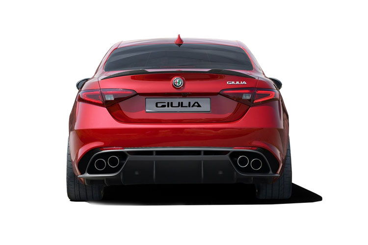 Alfa Romeo Giulia Saloon 2.0 T 200PS Super 4Dr Auto [Start Stop] [Driver Assistance Plus] back view