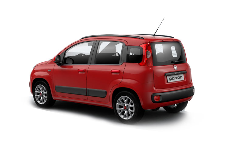 Fiat Panda Hatch 5Dr 1.2 8V 69PS Trussardi 5Dr Manual [Start Stop] back view