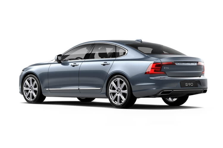 Volvo S90 Saloon AWD 2.0 D5 235PS R DESIGN Plus 4Dr Auto [Start Stop] back view