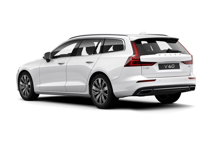 Volvo V60 Estate AWD PiH 2.0 h T8 Twin Engine 11.6kWh 405PS Polestar Engineered 5Dr Auto [Start Stop] back view