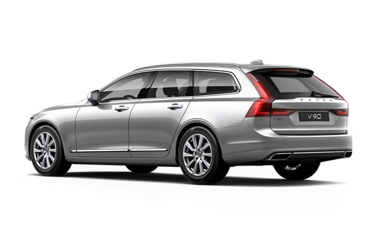 Volvo V90 Estate 2.0 B4 MHEV 197PS Momentum 5Dr Auto [Start Stop] back view