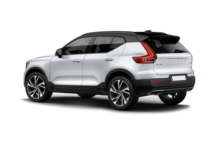 Volvo XC40 SUV AWD 2.0 B5 MHEV 250PS R DESIGN 5Dr Auto [Start Stop] back view
