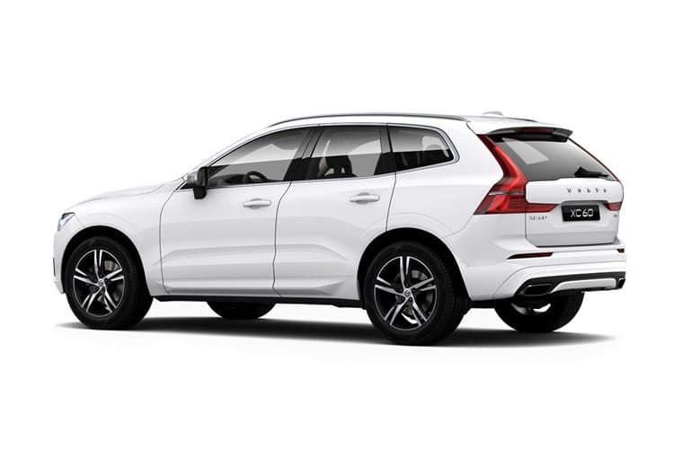 Volvo XC60 SUV AWD 2.0 B4 MHEV 197PS R DESIGN Pro 5Dr Auto [Start Stop] back view