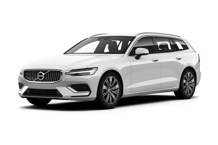 Volvo V60 Estate AWD PiH 2.0 h T8 Twin Engine 11.6kWh 405PS Polestar Engineered 5Dr Auto [Start Stop] front view