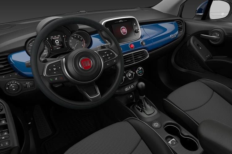 Fiat 500X SUV 1.0 FireFly Turbo 120PS Cross Plus 5Dr Manual [Start Stop] inside view
