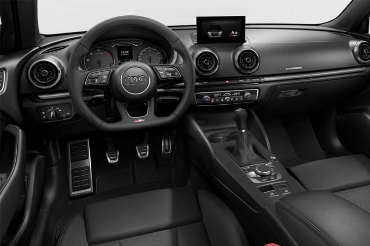 Audi A3 35 Saloon 4Dr 2.0 TDI 150PS Edition 1 4Dr S Tronic [Start Stop] inside view