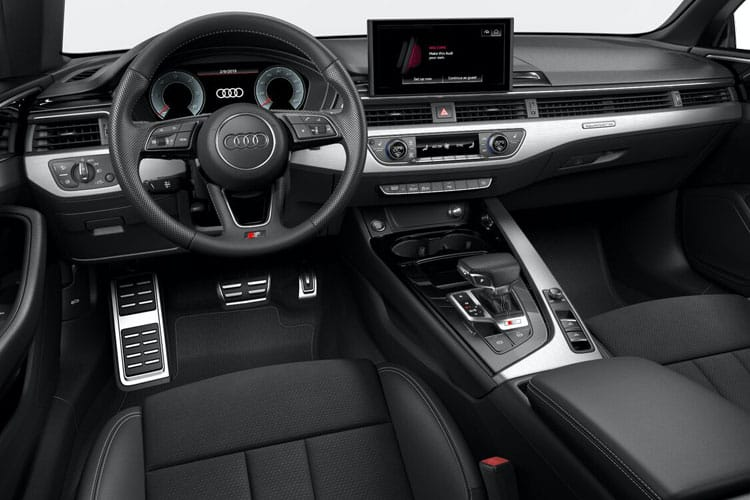 Audi A5 40 Cabriolet 2Dr 2.0 TFSI 190PS S line 2Dr S Tronic [Start Stop] inside view