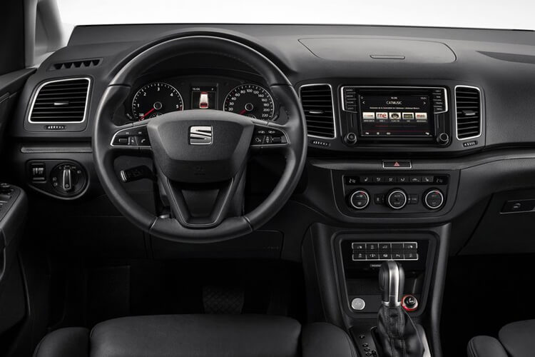 SEAT Alhambra MPV 5Dr 2.0 TDI 177PS XCELLENCE 5Dr DSG [Start Stop] inside view