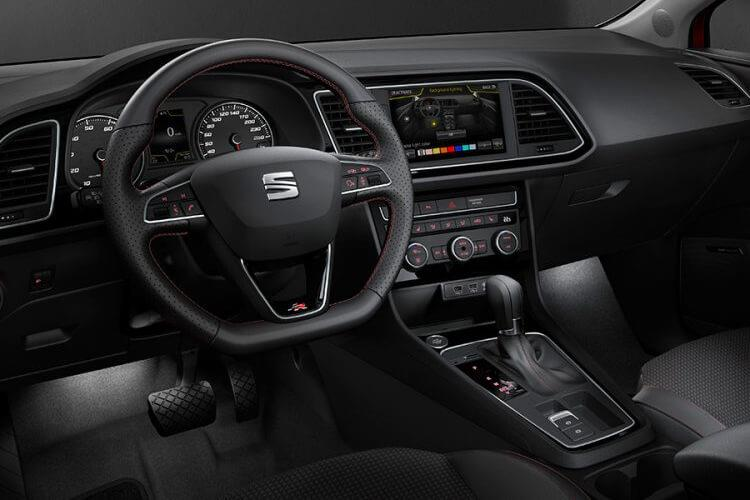 SEAT Leon Hatch 5Dr 1.5 eTSI MHEV 150PS FR Sport 5Dr DSG [Start Stop] inside view