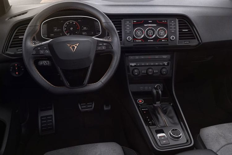SEAT CUPRA Ateca SUV 4Drive 2.0 TSI 300PS Limited Edition 5Dr DSG [Start Stop] inside view