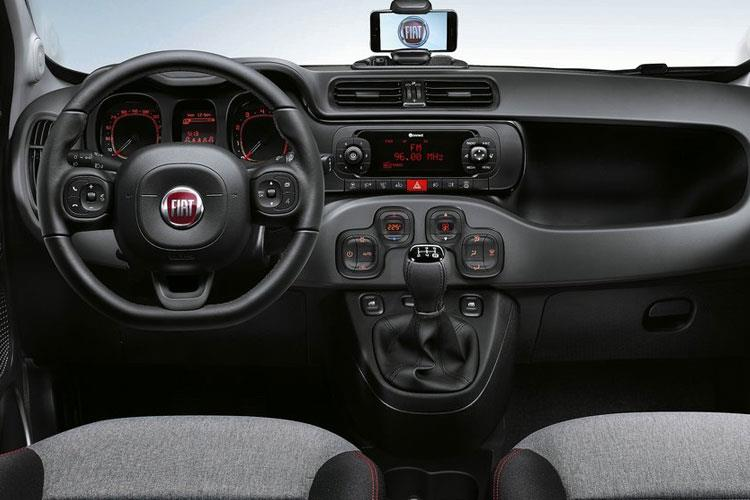 Fiat Panda Hatch 5Dr 1.2 8V 69PS Trussardi 5Dr Manual [Start Stop] inside view