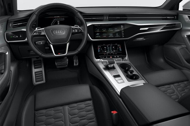 Audi A6 RS6 Avant quattro 4.0 TFSI V8 600PS  5Dr Tiptronic [Start Stop] inside view